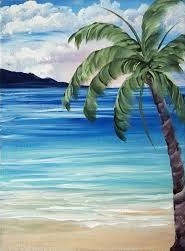 School Holiday Workshop – Tropical Palm Trees -Wed Oct 9 – Morning Session