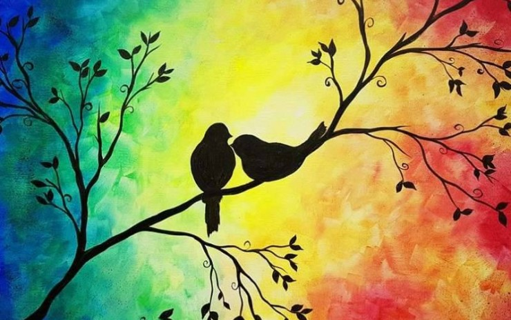 Paint Birds on a Tree – Thursday 16 April 2020 10:00 AM – 12:00 PM