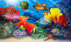 School Holiday Workshop – Reef and Sea – Oct 11 – Afternoon Session 12.00pm-3.00pm