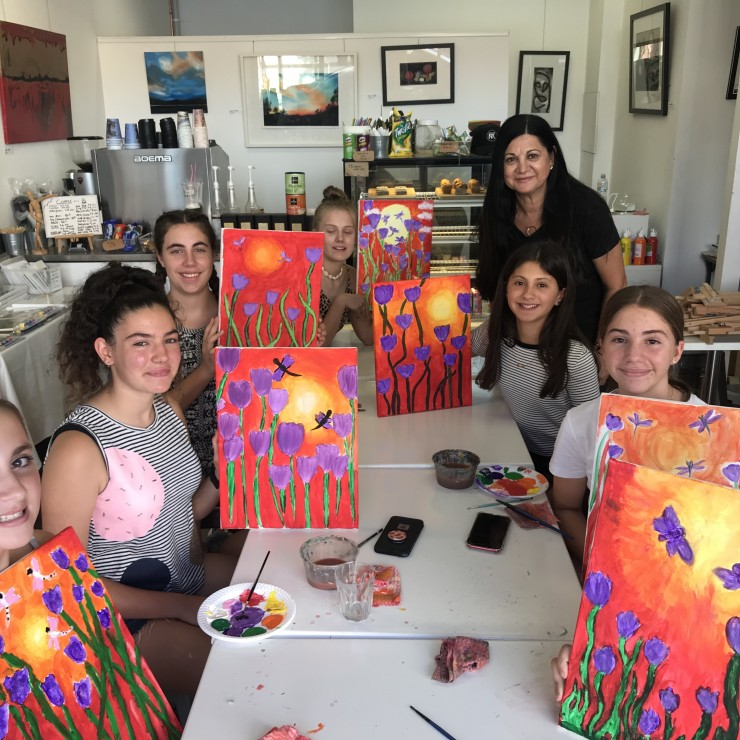 SCHOOL HOLIDAY ART WORKSHOPS – SEPT 28 – OCT 9 – HALF DAY AND FULL DAY