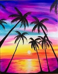 Paint an Island Paradise – Monday 20 April – 10:00 AM – 12:00 PM
