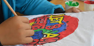 PAINT YOUR OWN TSHIRT – MON. JAN 6 This is an afternoon half day session. All children need to bring their own Tshirt to paint on. CREATIVE KIDS VOUCHER ACCEPTED