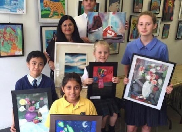 TERM 3 ART CLASSES FOR KIDS OF ALL AGES  – JULY 21 – SEPT 26