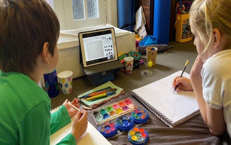 TERM 3 2021 CHILDREN'S ART CLASSES Currently ONLINE- All Ages Pre K – Yr 12 – Tues – Sat