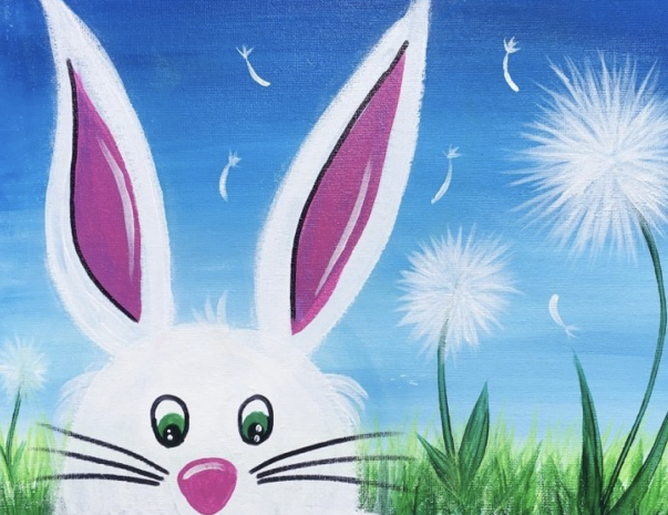 PAINT THE EASTER BUNNY – MONDAY 13TH APRIL – 10AM – 12PM