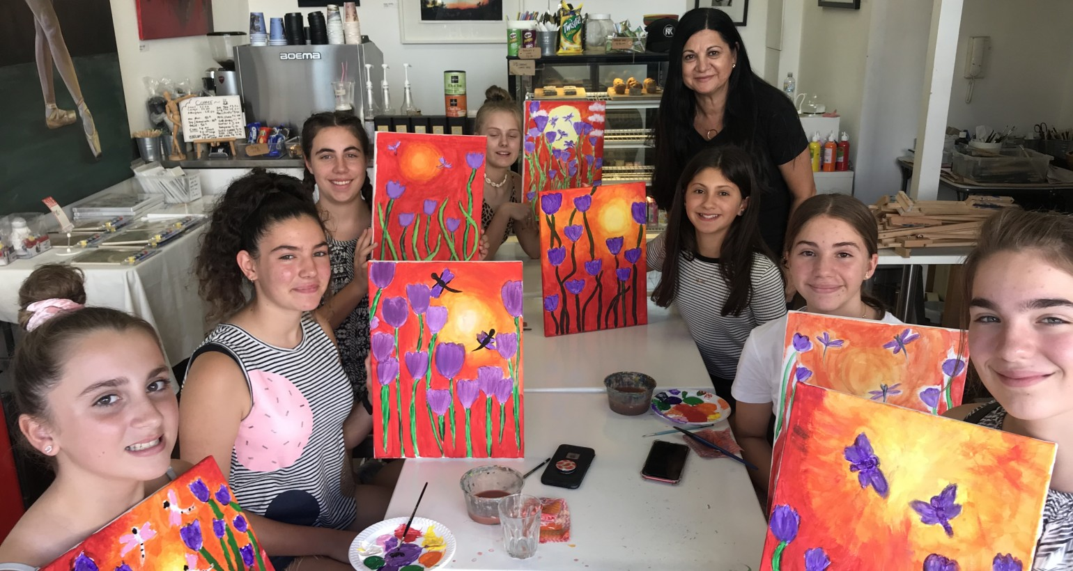 EASTER HOLIDAY SUMMER SCHOOL ART WORKSHOPS APRIL 7-16 –  HALF DAY AND FULL DAY