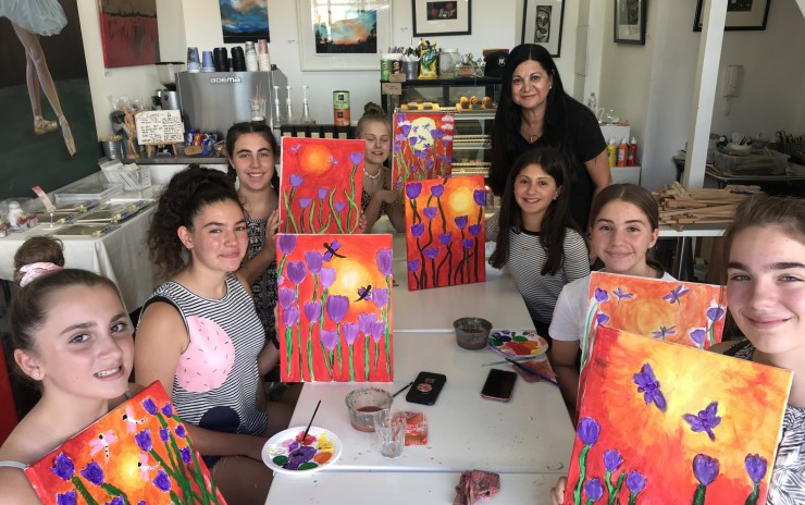 SCHOOL HOLIDAY SUMMER SCHOOL ART WORKSHOPS – JAN 2021- HALF DAY AND FULL DAY